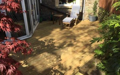 A Decking Project in Redland