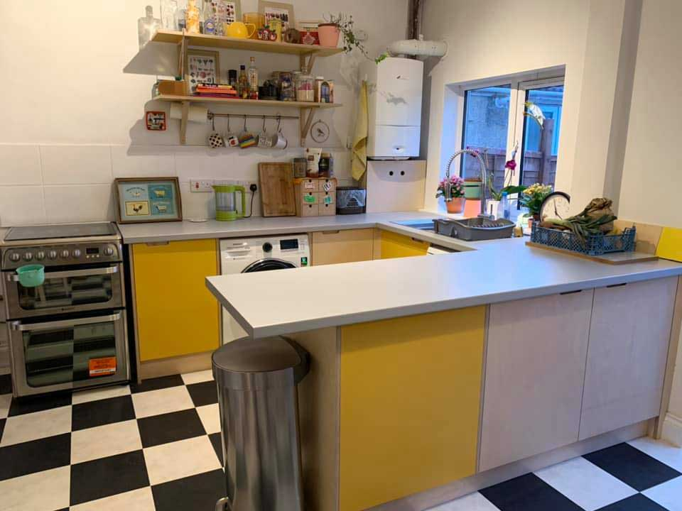 Decorated Kitchen & Tiles