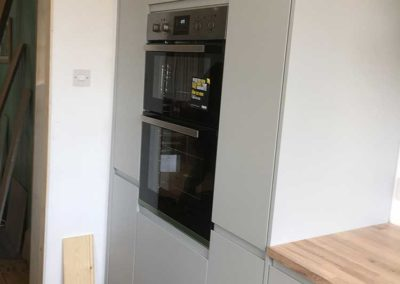 Built in Oven & Larder Storage