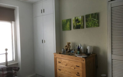 Fitted Wardrobe in an Alcove
